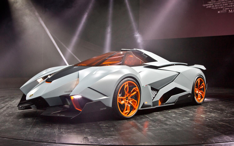 Lamborghini Egoista Pics