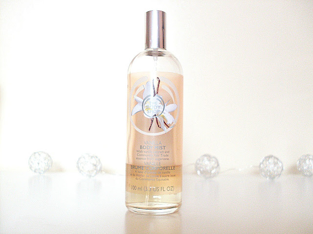 The Body Shop vanilla mist