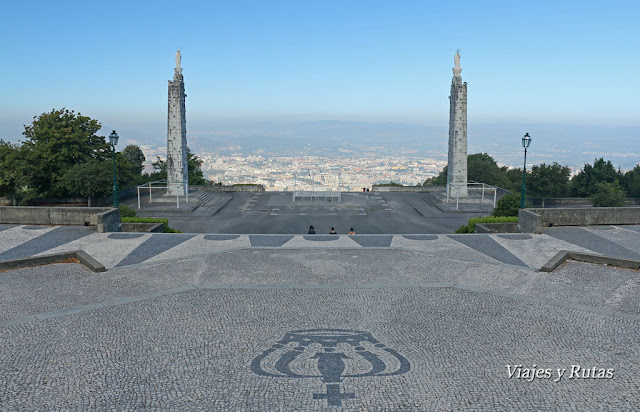 Santuario de Nossa Senhora do Sameiro, Braga, Portugal