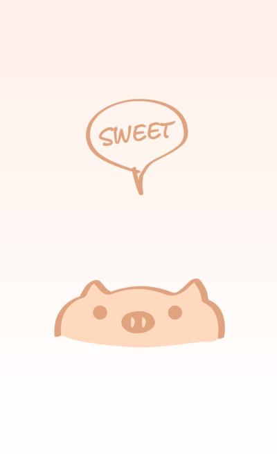 Cute little piggy theme