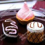 patron gratis pastel amigurumi | free amigurumi pattern pie