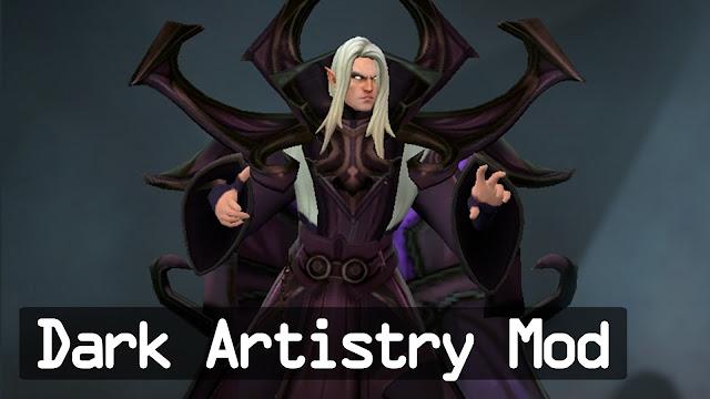 Mod Dota Invoker Dark Artistry