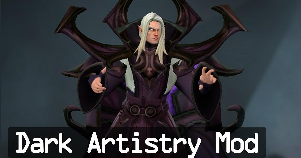 Mod dark artistry invoker | mod skin dota.