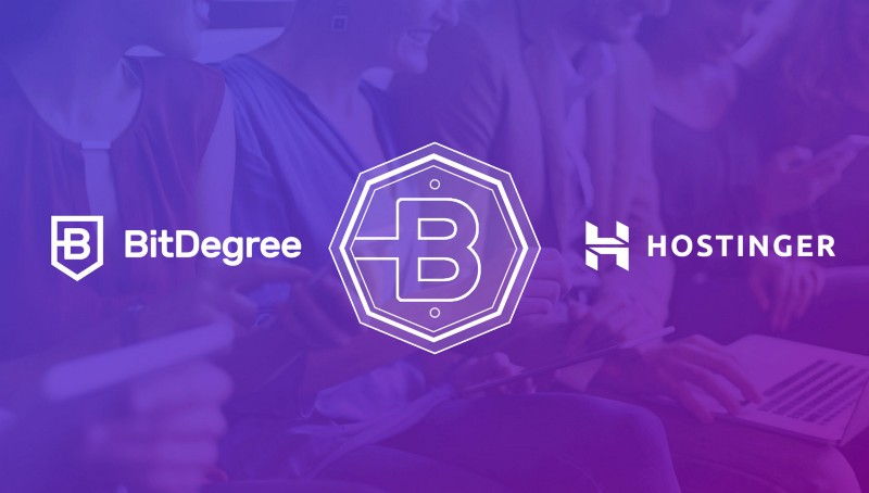 Guaranteed Value Return For Bitdegree Token Holders Backed By Hostinger Services