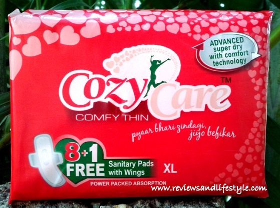 CozyCare Sanitary Napkins Review India
