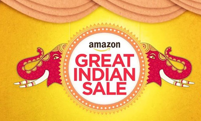 Amazon Great Indian Festival Sale 2016 2 Oct – 6 Oct Offers, Discounts Coupons