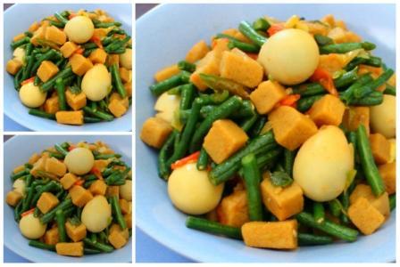 resep tumis aneka sayur telur puyuh amp tempe gembus lezat