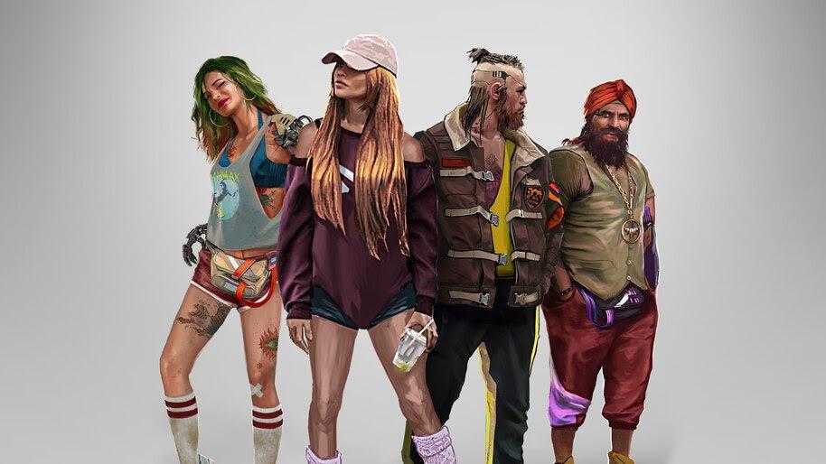 Cyberpunk 2077, Entropism, Style, Concept Art, 4K, #3.2231