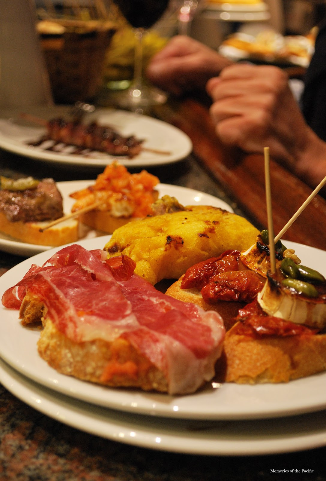 Gandarias pintxos san sebastian