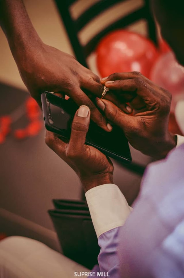 See Lovely Photos of Pastor Samuel Ekomanna surprise proposal to his long time friend