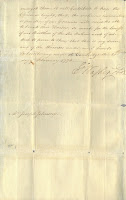 Second page of two of Washington's letter