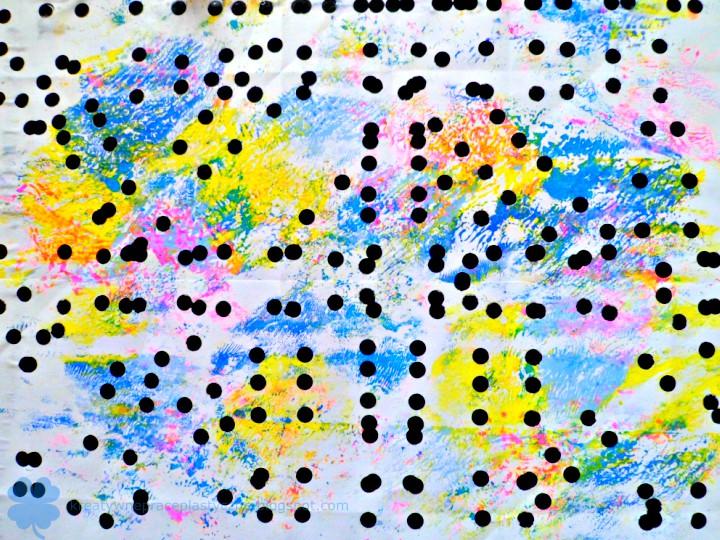 dziurkowanie papieru artystycznego