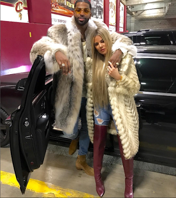 Tristan Thompson and Khloe Kardashian spent Christmas together while his baby mama spent hers with their son