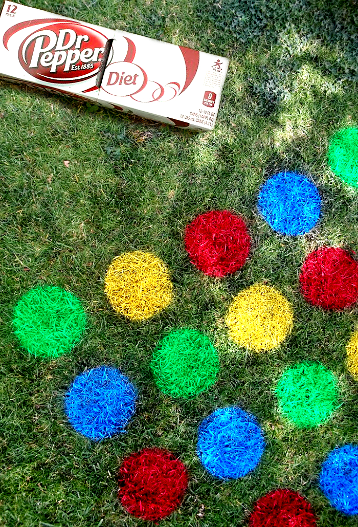 Lawn Twister: Discover Sweet Spring FUN and enter the Diet Dr Pepper® Sweet spring FUNd sweepstakes when you buy Diet Dr Pepper® at Walmart and upload your reciepts for a shot at Walmart e-Gift Cards! #sponsored