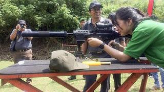 Pindad Lakukan Uji Senjata Baru Pindad yang nantinya bakal digunakan untuk Operasi Militer Khusus - Naon Wae News