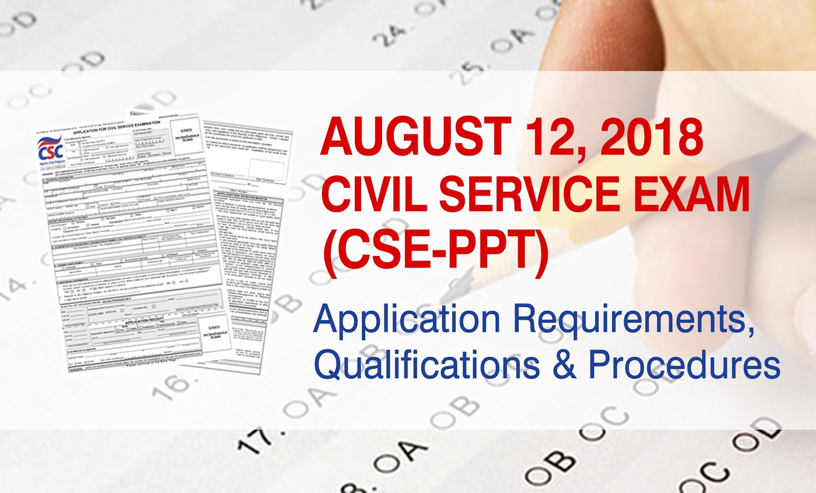APPLICATION PERIOD: April 10, 2018 - June 22, 2018 (CLOSED) See application  procedures, requirements and qualifications here