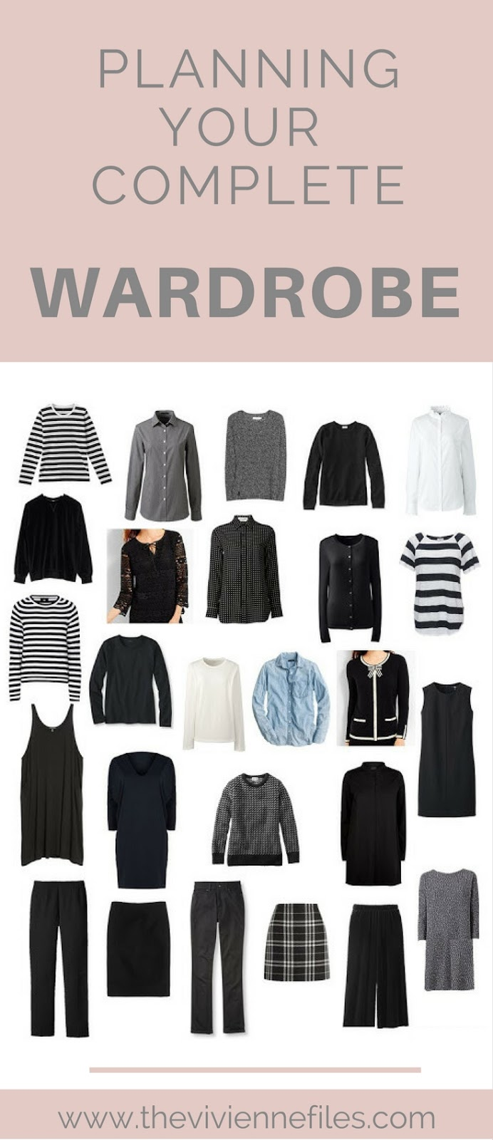 how to keep an all black wardrobe