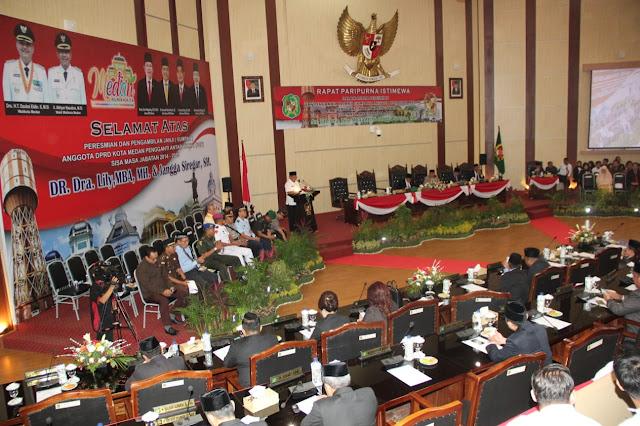 Paripurna DPRD Medan Laporkan, Infrastruktur dan Drainase Buruk