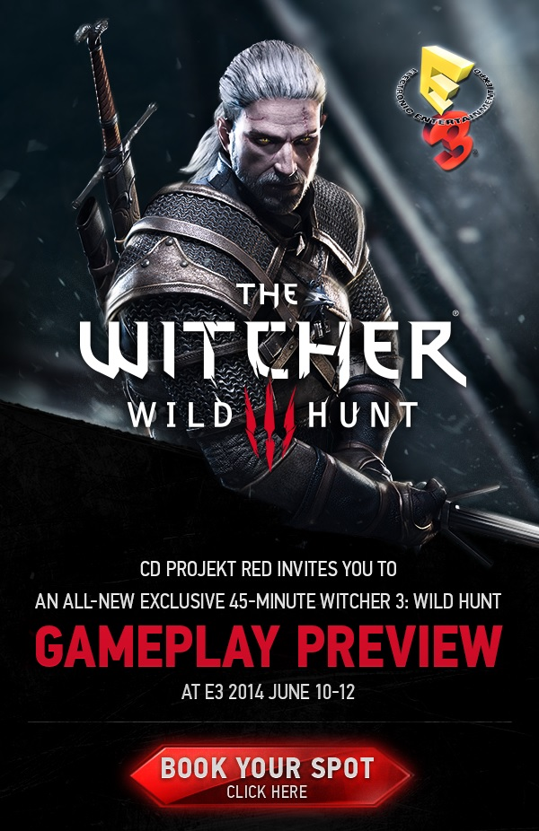 Witcher 3 Gameplay Preview Teaser