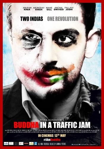 Download Buddha in a Traffic Jam 2016 Hindi pDVDRip 700MB ESubs