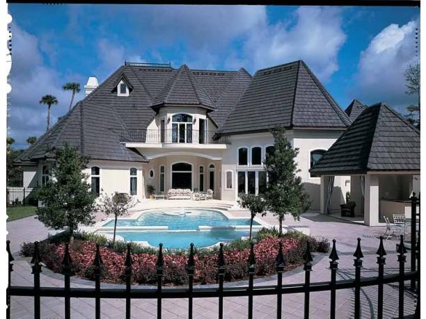 Mediterranean Modern House Plans Dhsw18626 House