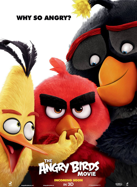 Poster The Angry Birds (2016)