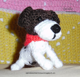 Crochet Dog Jack Russell