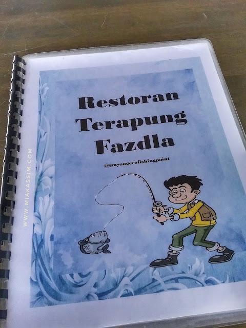 Makan atas air   Restoran Terapung Fazdla Tuaran