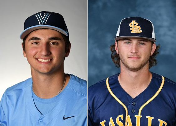 La Salle Connor Hinchliffe and Villanova Nick Lorusso take home honors