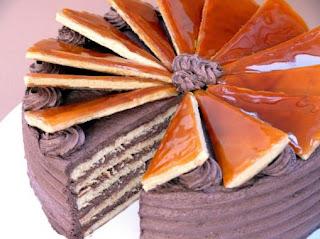 kreasi sugar dough, dobosh cake
