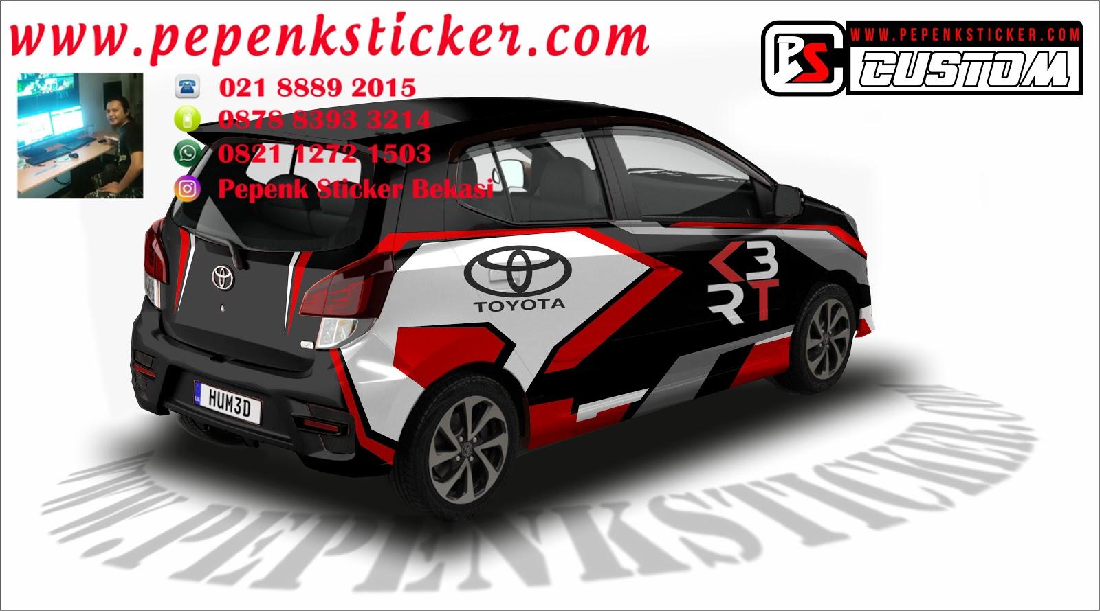81 Modifikasi Cutting Sticker Mobil Agya Gratis Terbaru