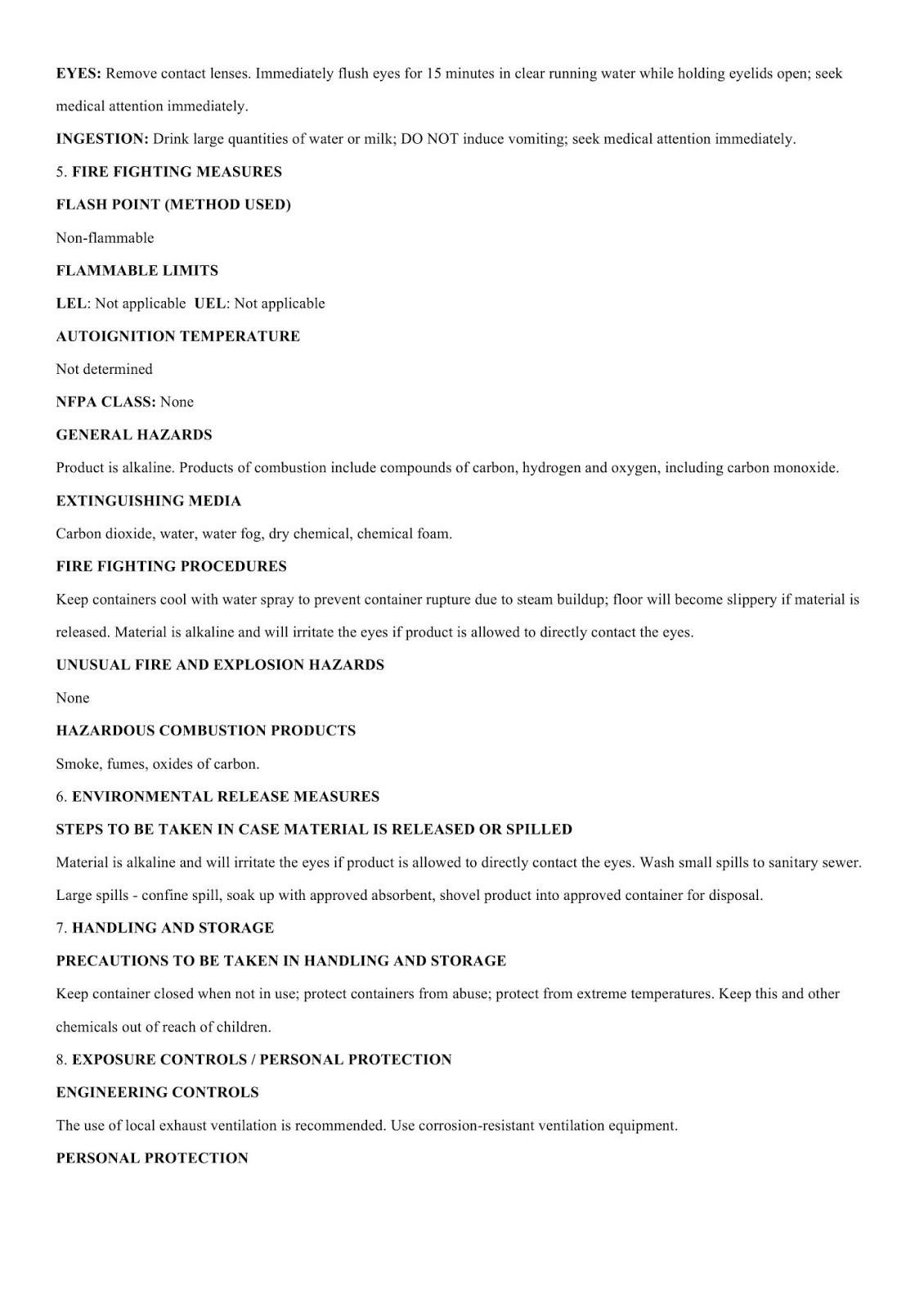 MSDS - Hoá chất nhuộm màu bê tông DG C002- Trang 2