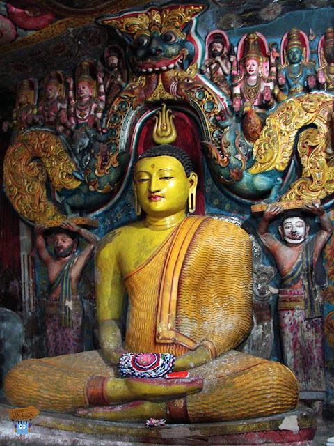 Aluvihara Temple - Sri Lanka