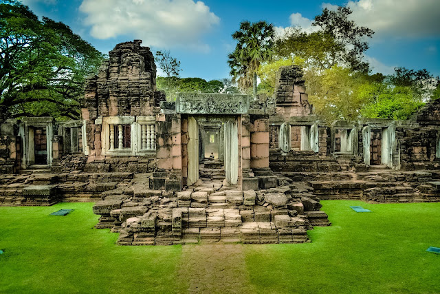 Tourist Attraction of a Place Temple Stones Historic HD Wallpaper
