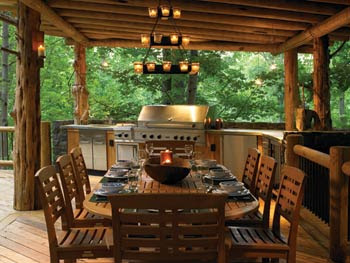 Kitchen Design: Outdoor Kitchen Design Ideas
