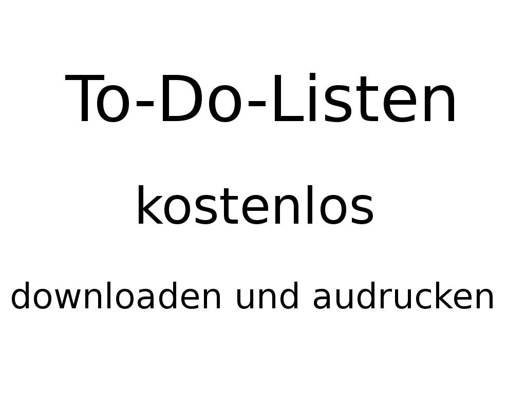 Printable Wochenplaner Zum Download