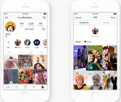 Cara Menggabungkan Highlight Stories dan Stories Link di Instagram