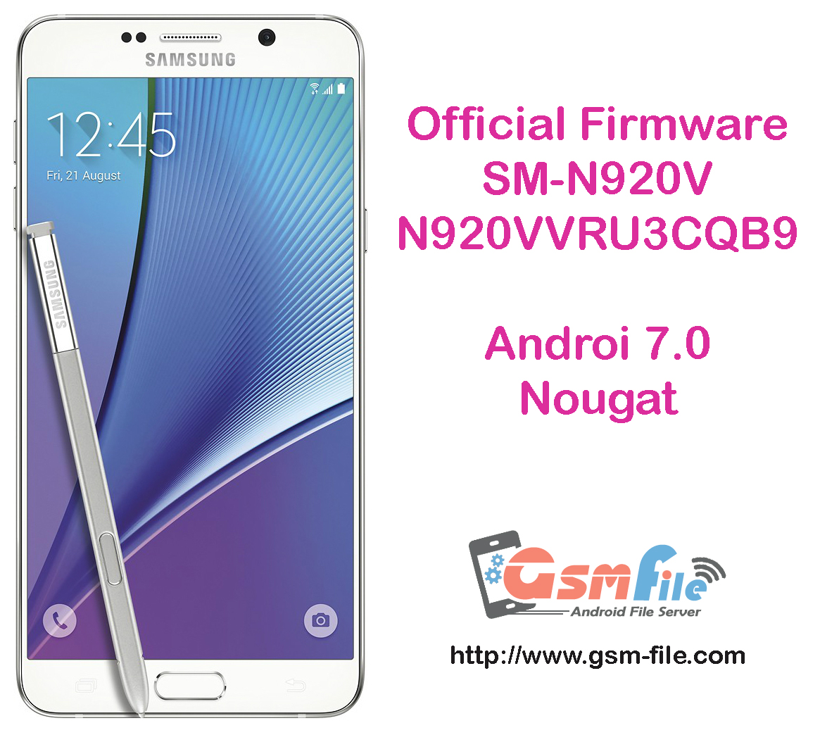 Sm N920v Firmware
