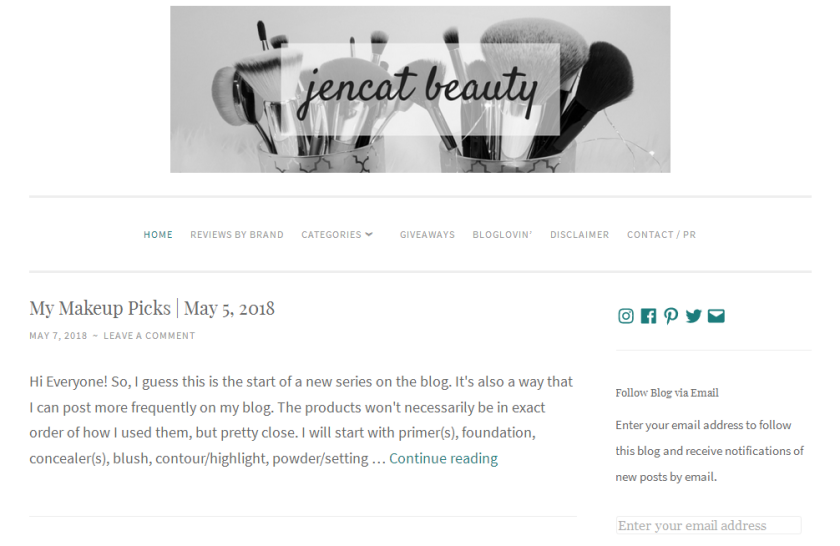 bbloggers, bbloggerca, canadian beauty bloggers, beauty blog, featured blogger, blog of the month, jencat, jencat beauty, toronto blogger