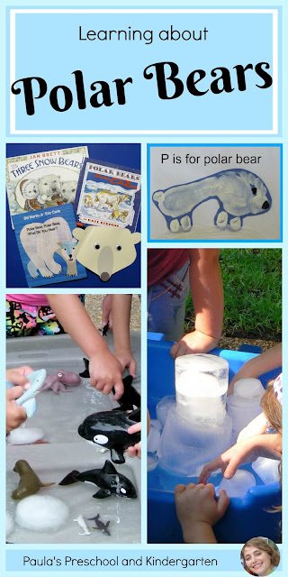 Learning about polar bears, from Paula's Preschool and Kindergarten