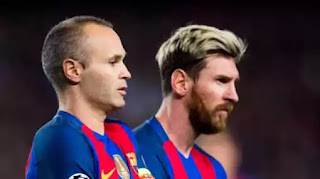 Barcelona Speaks On Messi And Iniesta Exit