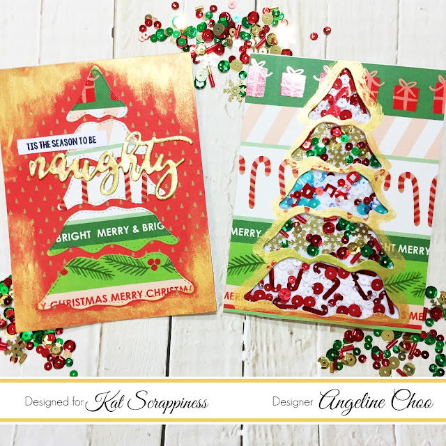 ScrappyScrappy: Xmas Tree Cards with Kat Scrappiness #scrappyscrappy #katscrappiness #christmas #christmascard #christmastree #katscrappinessstamp #katscrappinessdies #katscrappinesssequins #christmassequins #nuvomousse #tonicstudios #dcwv #wowembossing #card #cardmaking #stamp #stamping #craft #crafting #papercraft