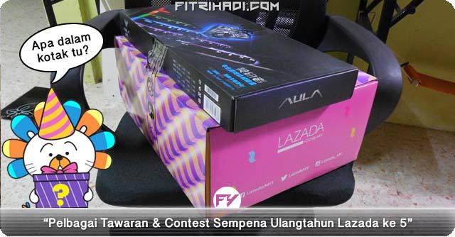 5 Produk Gempak Dari Lazada Surprise Box 2.0