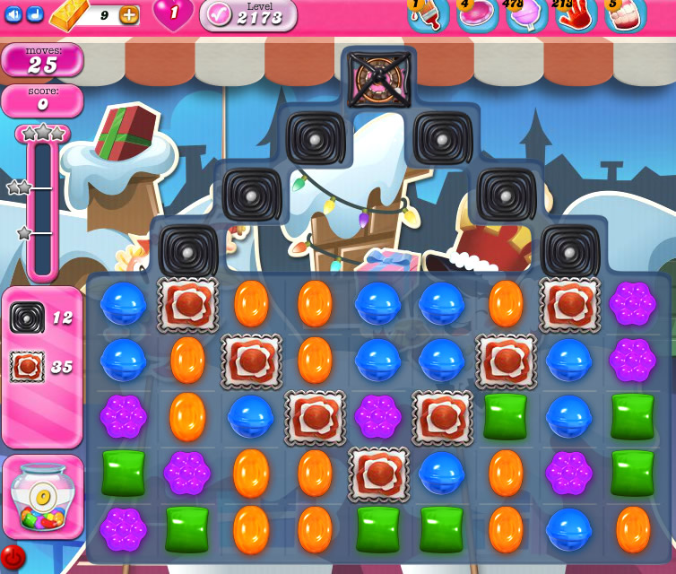Candy Crush Saga level 2173
