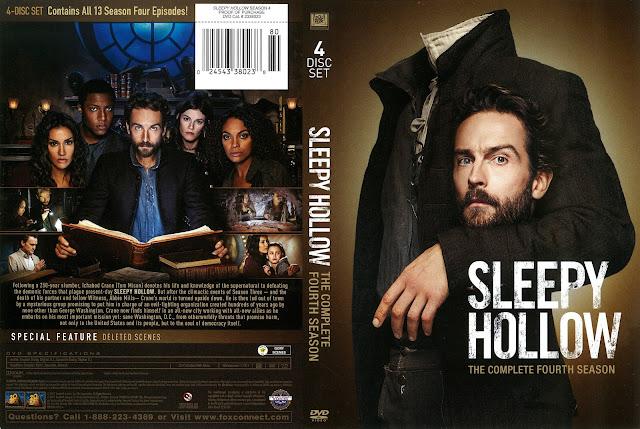 Sleepy Hollow Season 4 DVD Cover