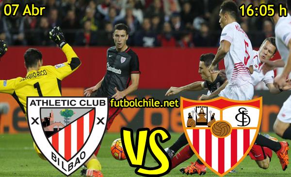 VER STREAM RESULTADO EN VIVO, ONLINE: Athletic Club vs Sevilla