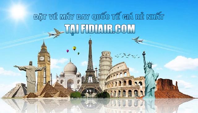 Fidiair.com vé máy bay quốc tế