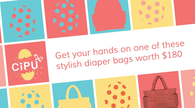 cipu diaper bag giveaway
