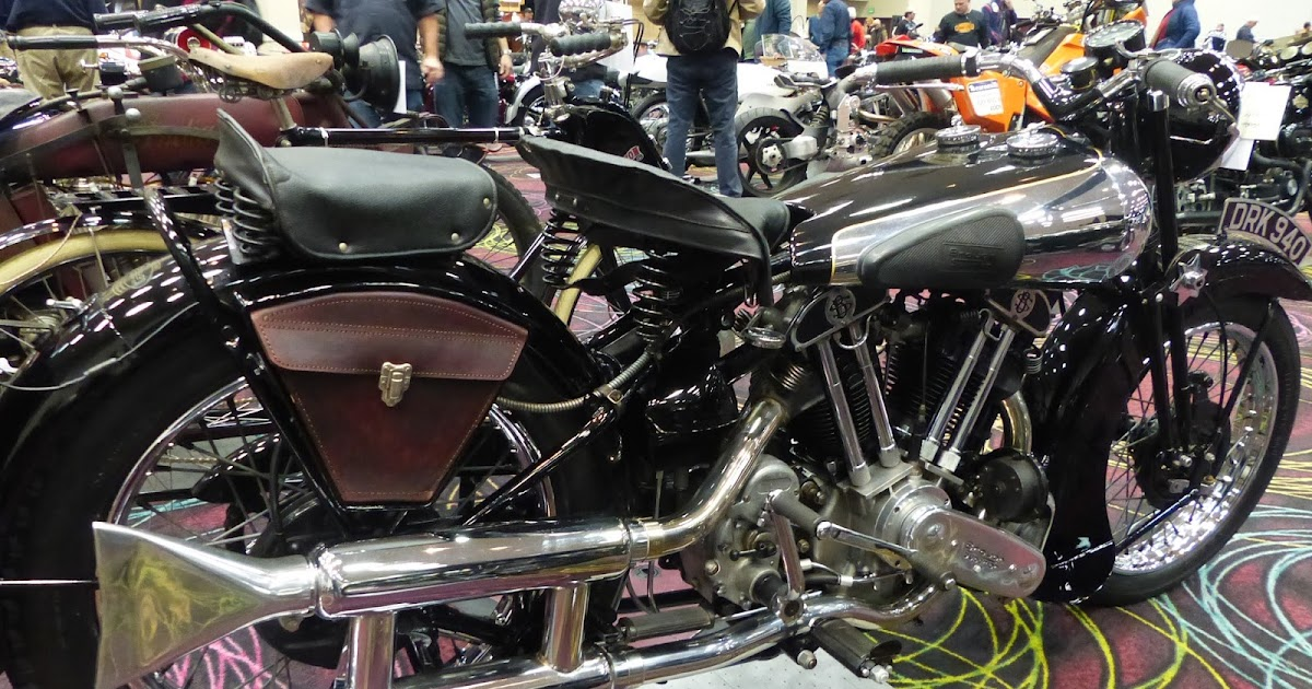 1970 Harley Davidson Evel Knievel Tribute: OldMotoDude: 1936 Brough Superior Sold For $120,500 At The