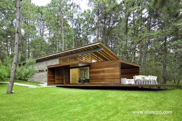 Casa de campo estilo Contemporáneo en México